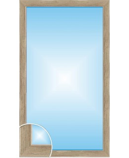 Зеркало в багете В 3415-11 (130см х 70см)