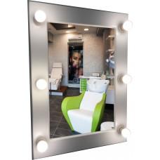 Зеркало для макияжа  (80см х 60см)