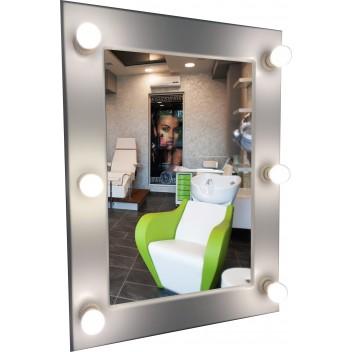 Косметическое зеркало с подсветкой  (80см х 60см)