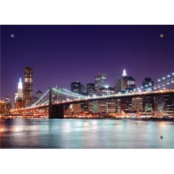 "Картина на стекле ""Бруклинский мост"""