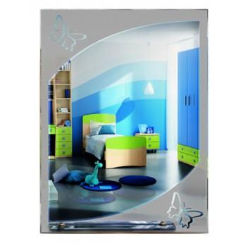 Зеркало с матовым декором MO 21 (80 см х 60 см)