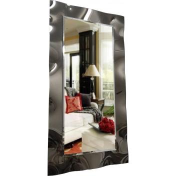 Гнутое тонированное зеркало (120х63 см)