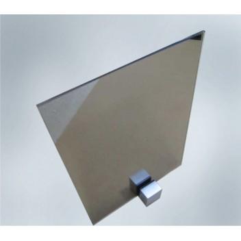 Зеркало тонированное бронза 4 мм с прирезкой за м кв.