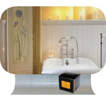 Зеркало в ванную с гнутой полкой ДГ 02 (60см х 40см)
