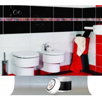 Зеркало в ванную с гнутой полкой ДГ 01 (60см х 40см)