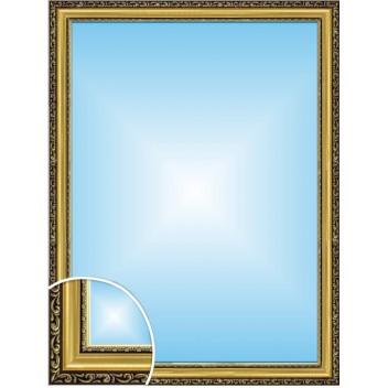 Зеркало в багете М 3422-05 (80см х 60см)