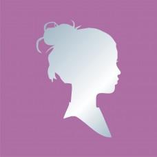 Акриловое зеркало Девушка