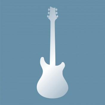 Акриловое зеркало Гитара