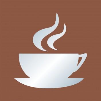 Акриловое зеркало Кофе