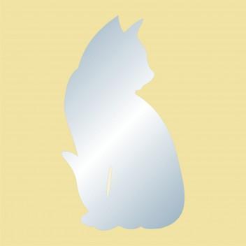 Акриловое зеркало Кот