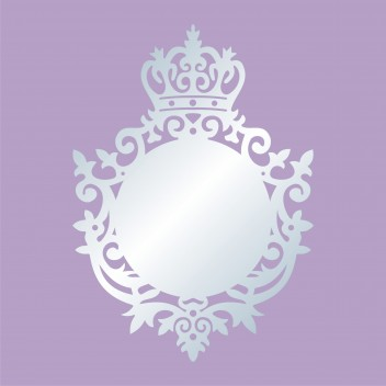 Акриловое зеркало Корона