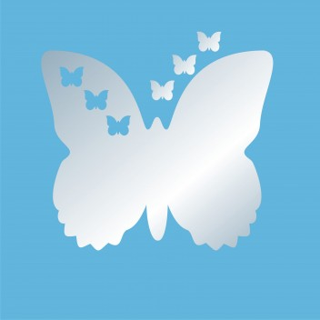 Акриловое зеркало Бабочка