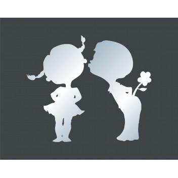 Акриловое зеркало Парочка