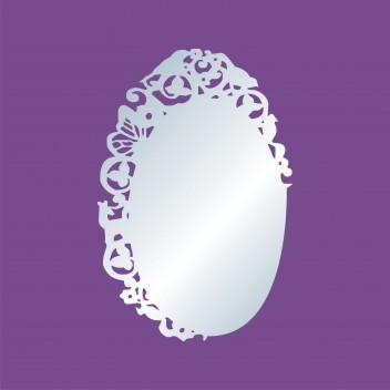 Акриловое зеркало Рамочка