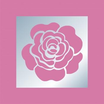 Акриловое зеркало Роза