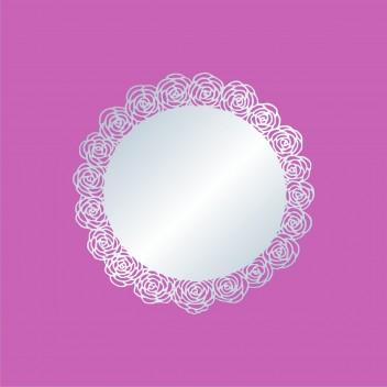 Акриловое зеркало Розы