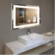 Зеркало с подсветкой в алюминиевой  рамке PA 1 (60см х 80см)