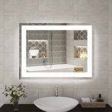Зеркало с подсветкой  P 1 и косметическим зеркалом (60 см х 80 см)