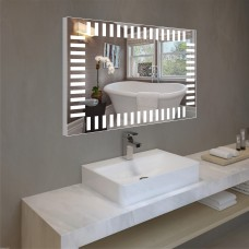 Зеркало с подсветкой в алюминиевой  рамке  PA 6 (60 см х 80 см)