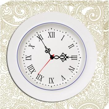Модульные картины с часами  H 011 (40см х 40см)