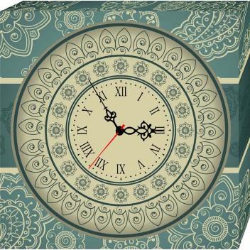 Модульные картины с часами  H 013 (40см х 40см)