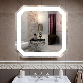 Зеркало с подсветкой ЛЗ 1 (70 см х 70 см)