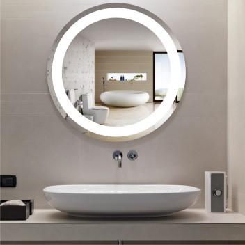 Зеркало круглое c подсветкой ЛК 1 (Ø70)