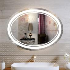 Зеркало с подсветкой ЛО 1 (60 см х 80 см)