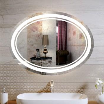 Зеркало с подсветкой ЛО 1  (60см х 80см)