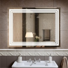 Зеркало с подсветкой ЛП 2  (60 см х 80 см)