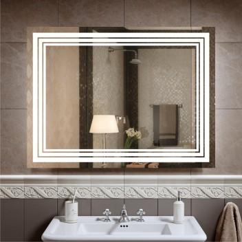 Зеркало с подсветкой ЛП 2  (60см х 80см)