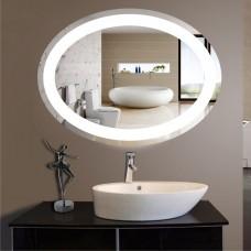 Зеркало с подсветкой ЛО 2  (60 см х 80 см)