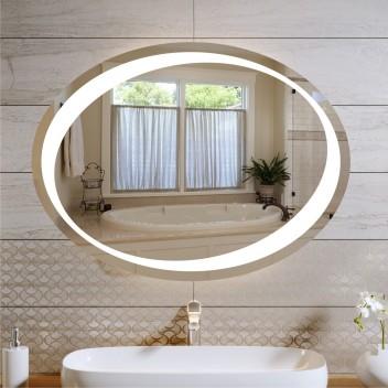 Зеркало с подсветкой ЛО 3  (60см х 80см)