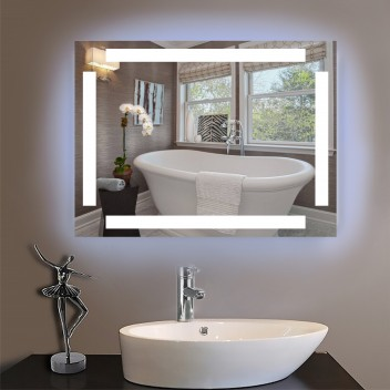 Зеркало с подсветкой ЛП 8 (60 см х 80 см)
