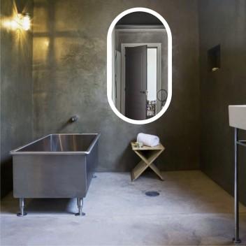 Зеркало с подсветкой LOFT 4 (90 см x 50 см)