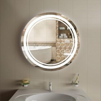 Зеркало круглое c подсветкой ЛК 5 (Ø60)