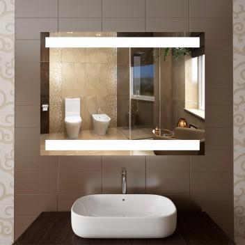 Зеркало с подсветкой ЛП 6 (60 см х 80 см)