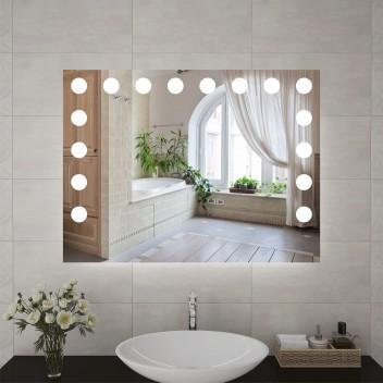 Зеркало с подсветкой ЛП 7 (60 см х 80 см)