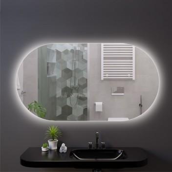 Зеркало c фоновой подсветкой типа Ambilight (50 см х 90 см)