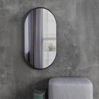 Зеркало овальное LOFT BLACK...
