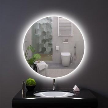 """Зеркало круглое c подсветкой """"Ambilight"""" (70 см х 70 см)"""