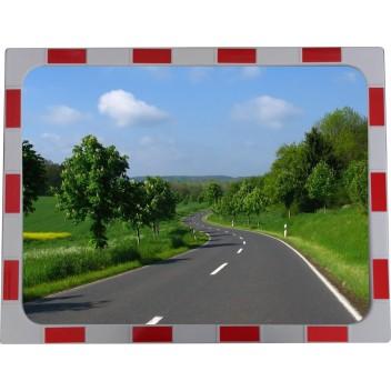 Cферическое прямоугольное дорожное зеркало  CПД 60х80 см