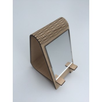 Подставка под телефон с зеркалом