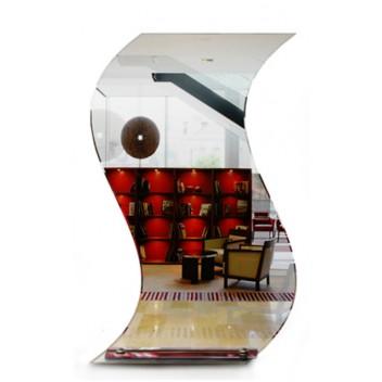 Зеркало в ванную 3 12 (80 см х 50 см)