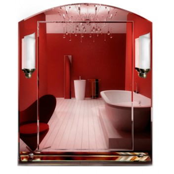 Зеркало с подсветкой для ванны 3 03 (70 см х 58 см)