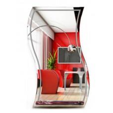 Зеркало волнистое  MO 18 (80 см х 50 см)