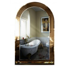 Зеркало в ванную с полкой T 33 (80 см х 50 см)
