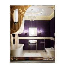 Зеркало с полкой в ванную T 38 (70 см х 55 см)