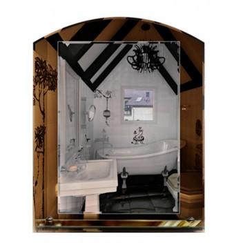 Зеркало в ванную с полкой T 14 (69 см х 55 см)