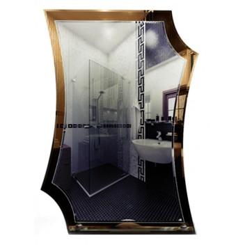Тонированное зеркало в ванную T 29 (78см х 55см)